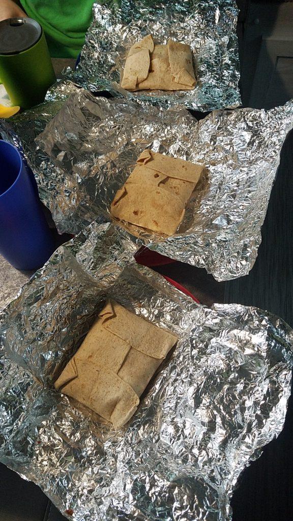 Oven breakfast sandwiches